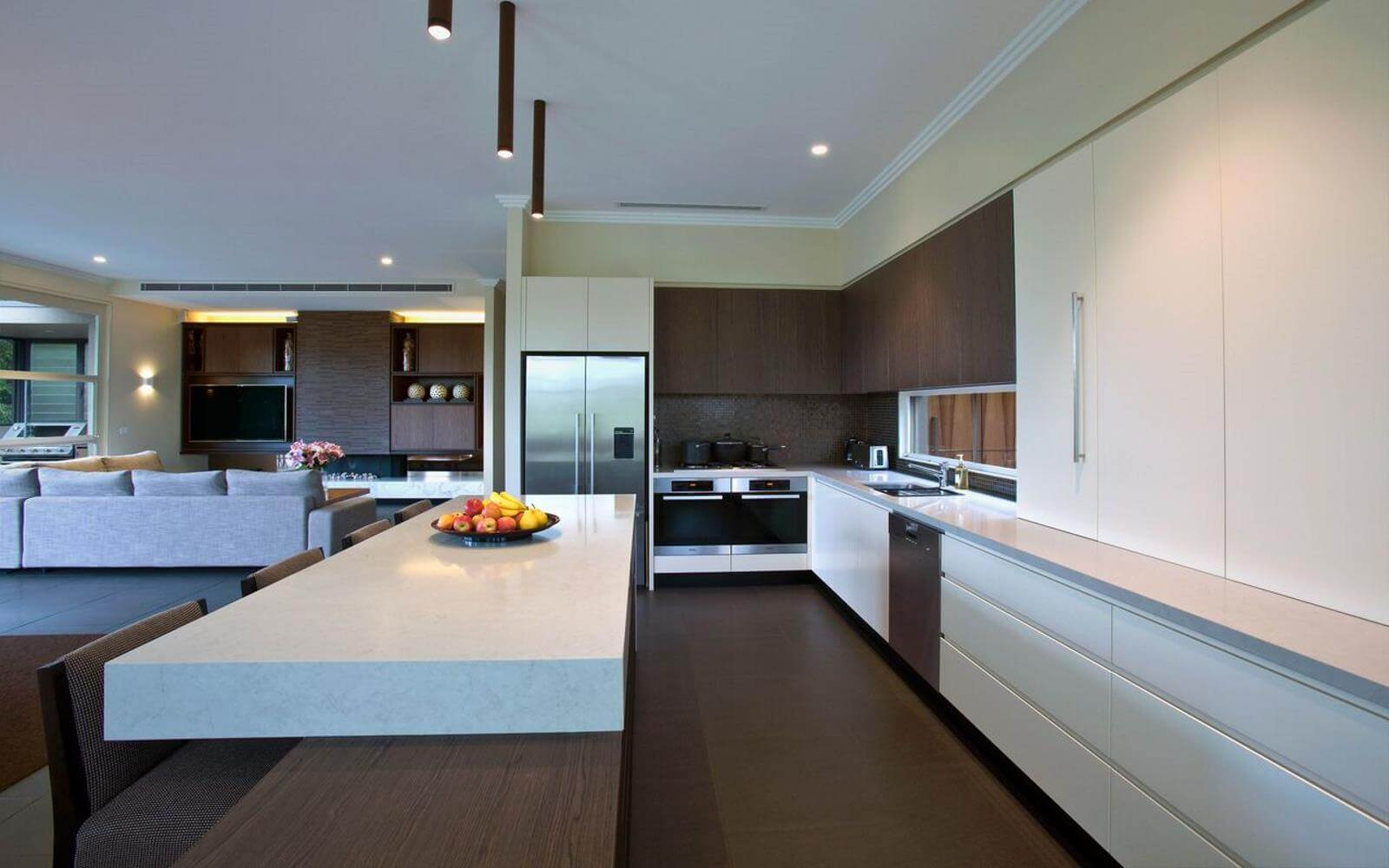 luxury kitchen renovation toorak milan cabinetmakers